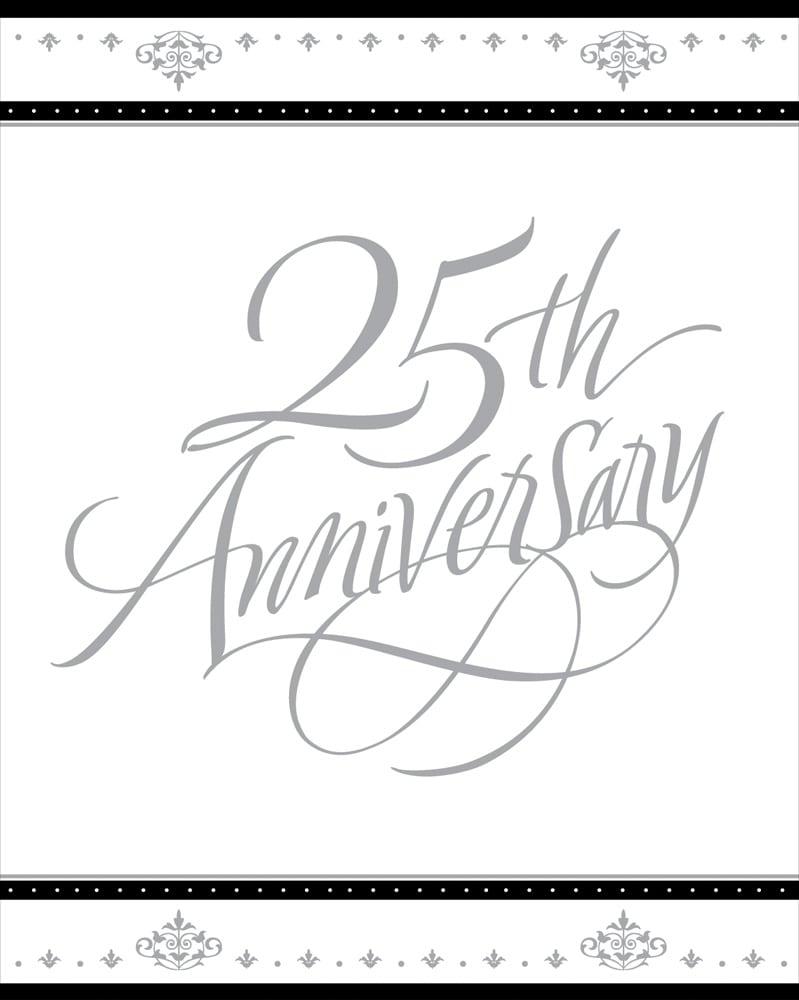 25th Wedding Anniversary Invitations Free