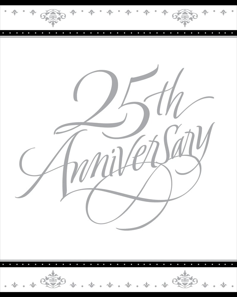 25 Wedding Anniversary Invitations