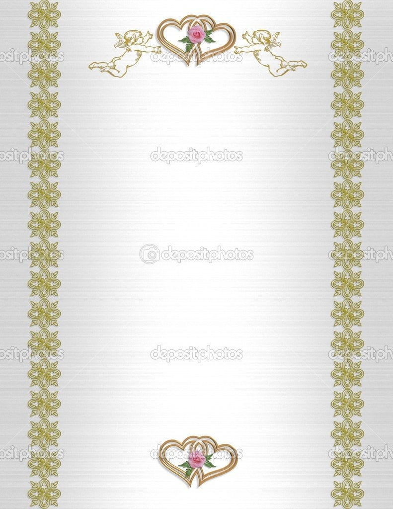 50th Wedding Anniversary Invitations Free Templates 5