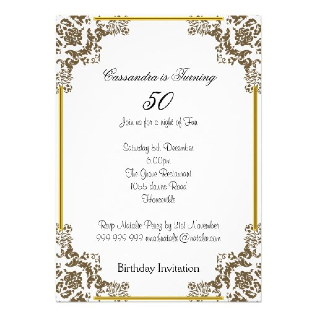 60th Birthday Invitations Templates Free 3