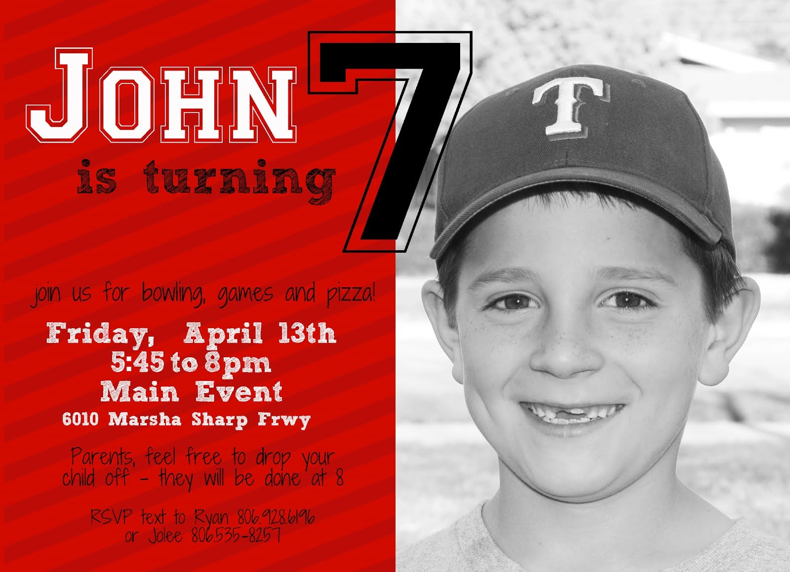 13Th Birthday Invitations Printable – Sample of Birthday Invitation