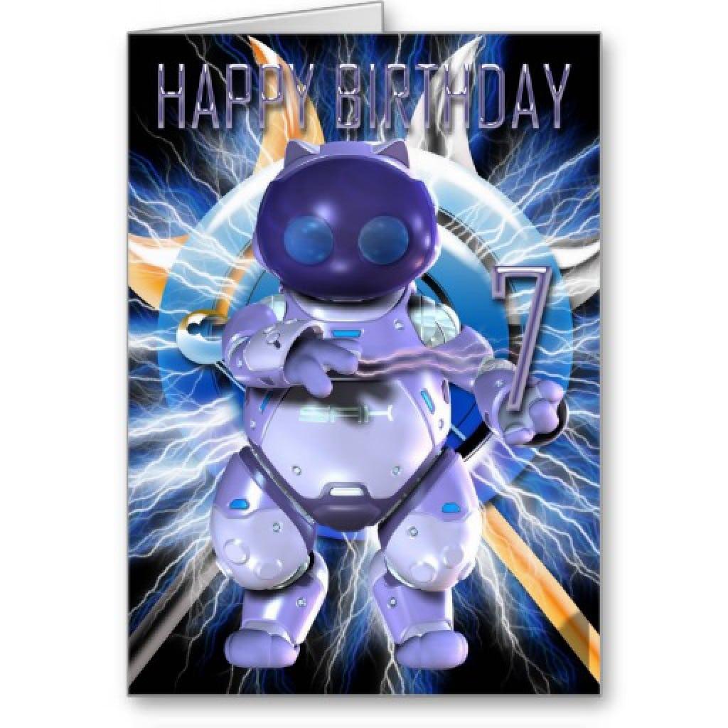 7th Birthday Invitation Template 5