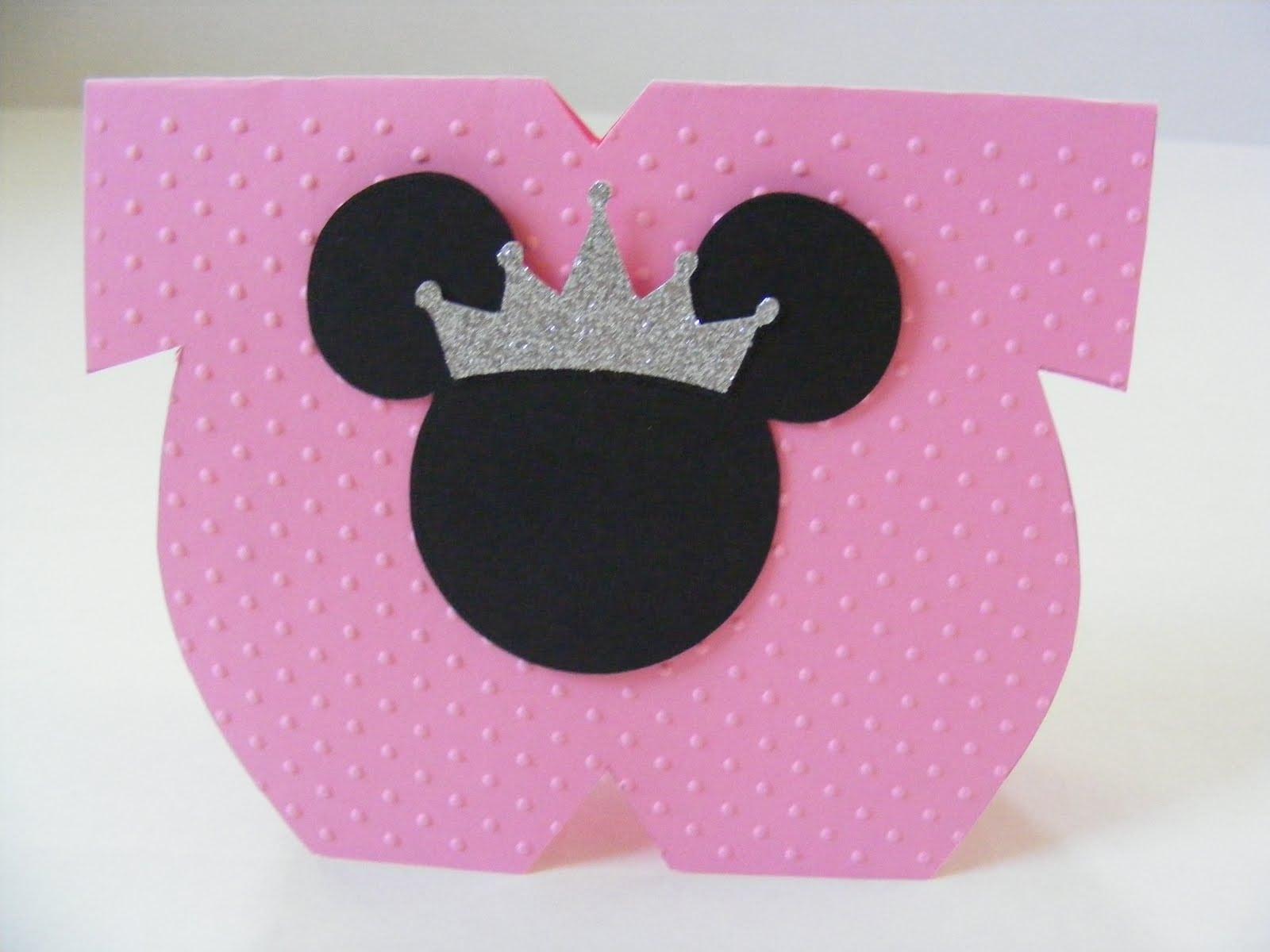 Baby Minnie Invite Template
