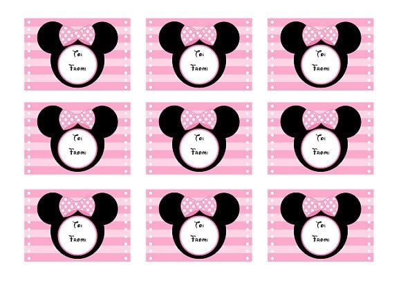 Baby Minnie Mouse Invitation Template Free 2
