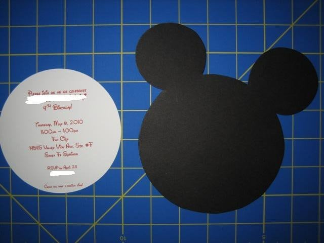 Baby Minnie Mouse Invitation Template Free 5
