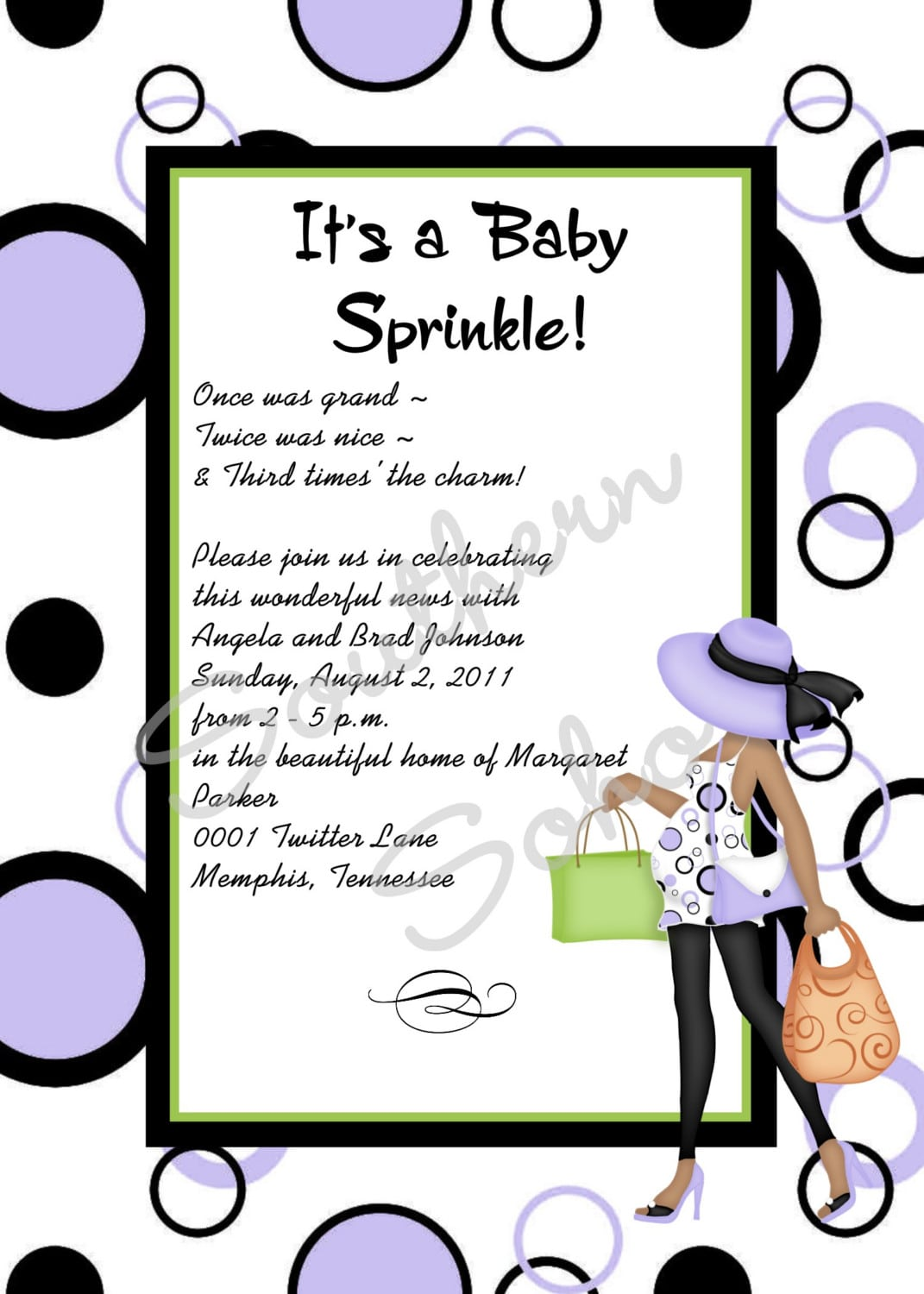 baby sprinkle invitations wording