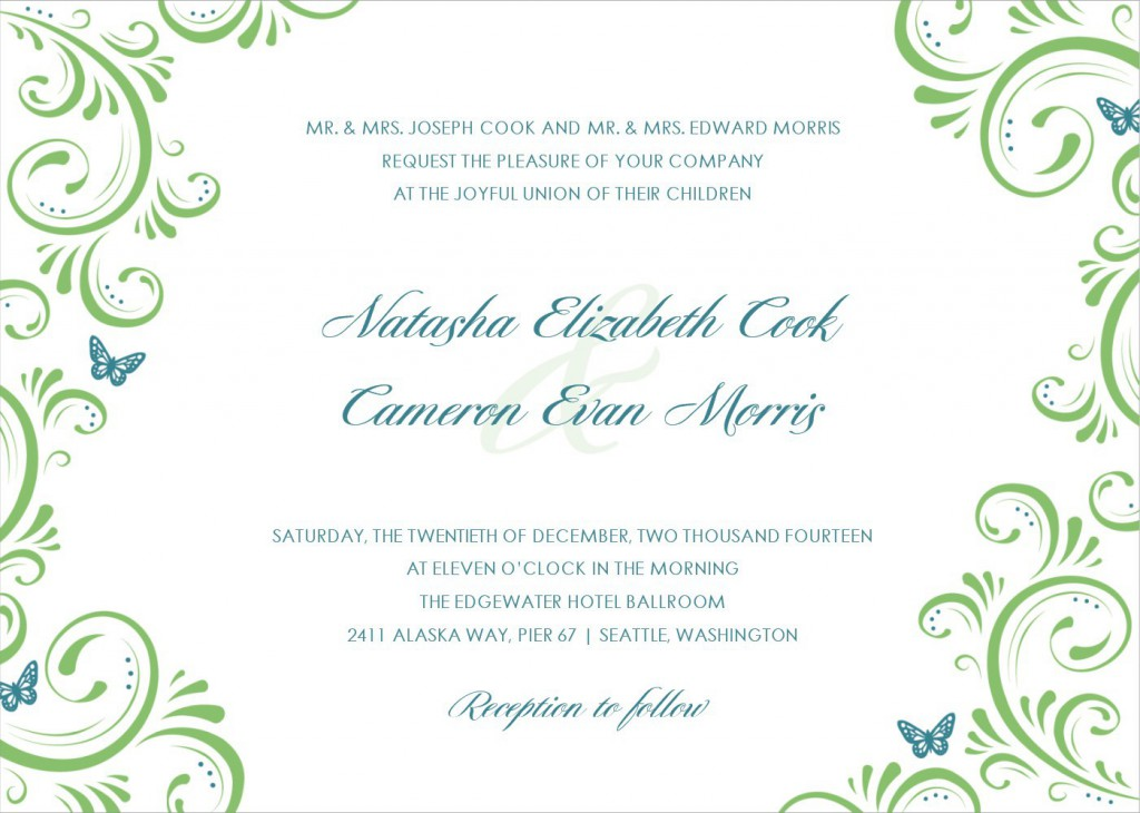 Wedding Invite Email Template: Baptism Invitations Blank Templates Free Download