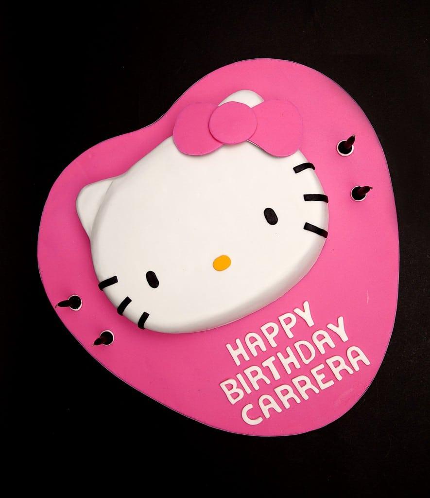 birthday invitation hello kitty template 4