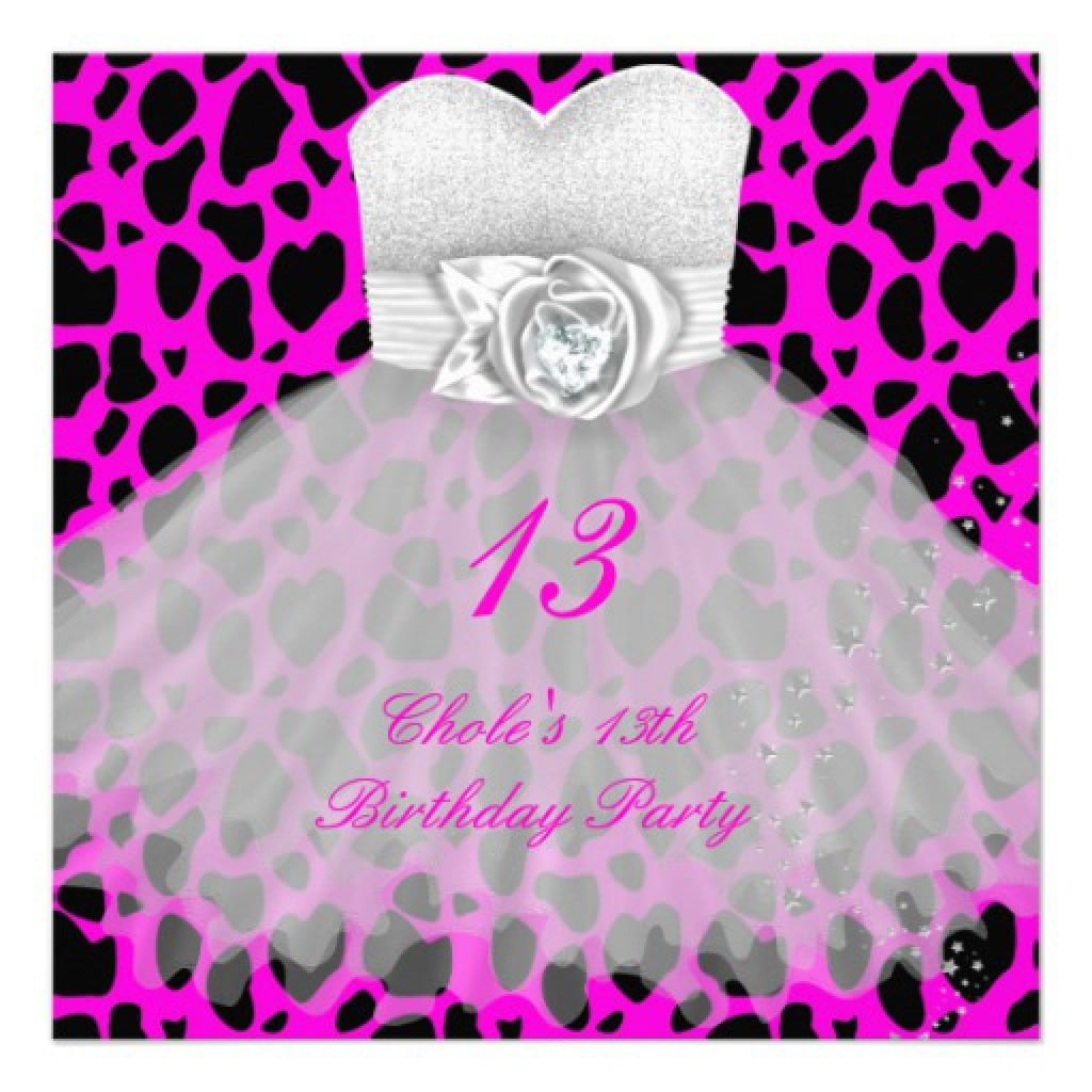 Birthday Invitation Ideas For Teenage Girls 4