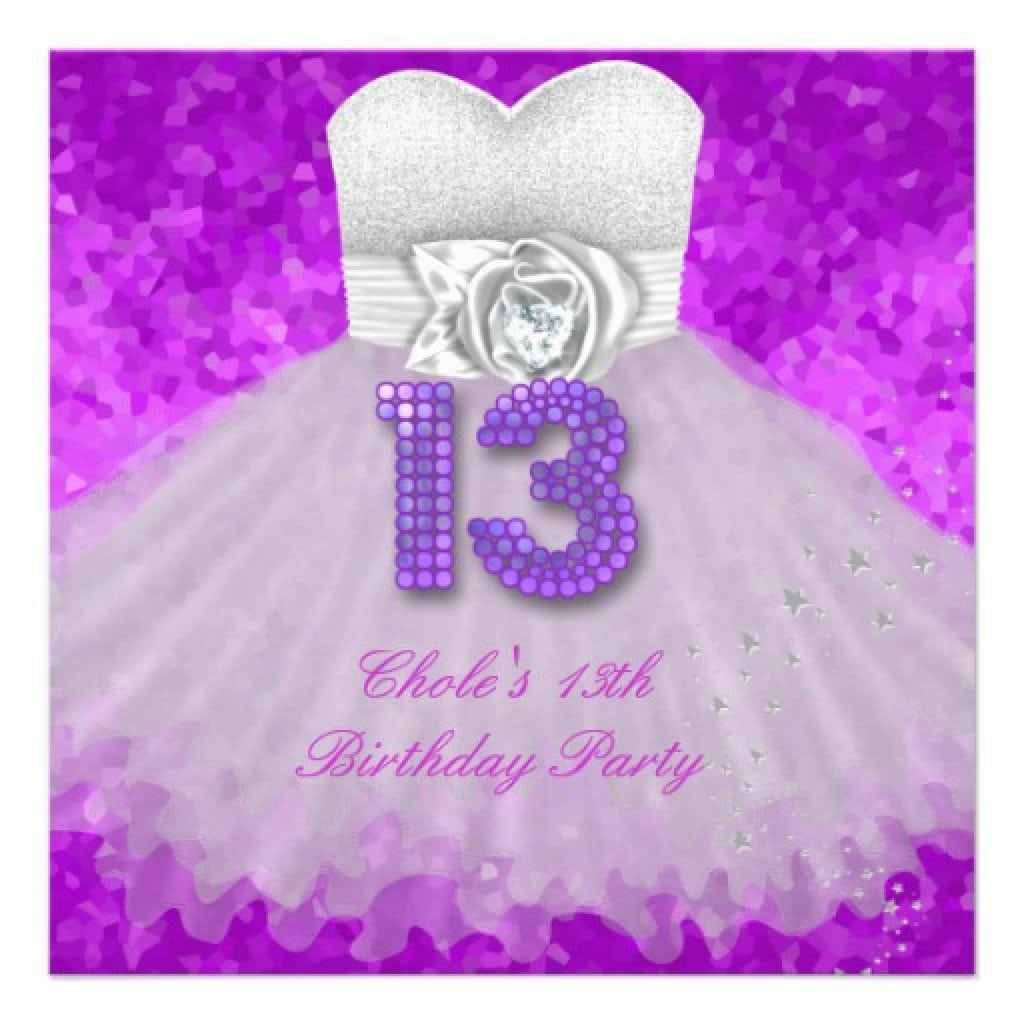 Birthday Invitation Ideas For Teenage Girls