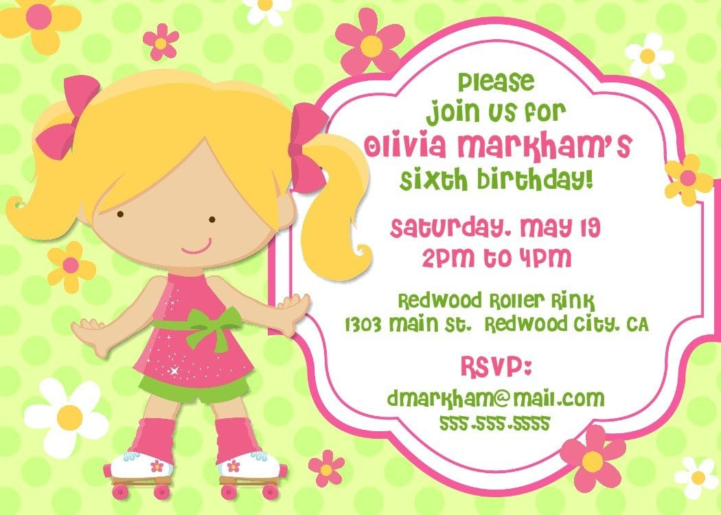 Birthday Invitations Ideas