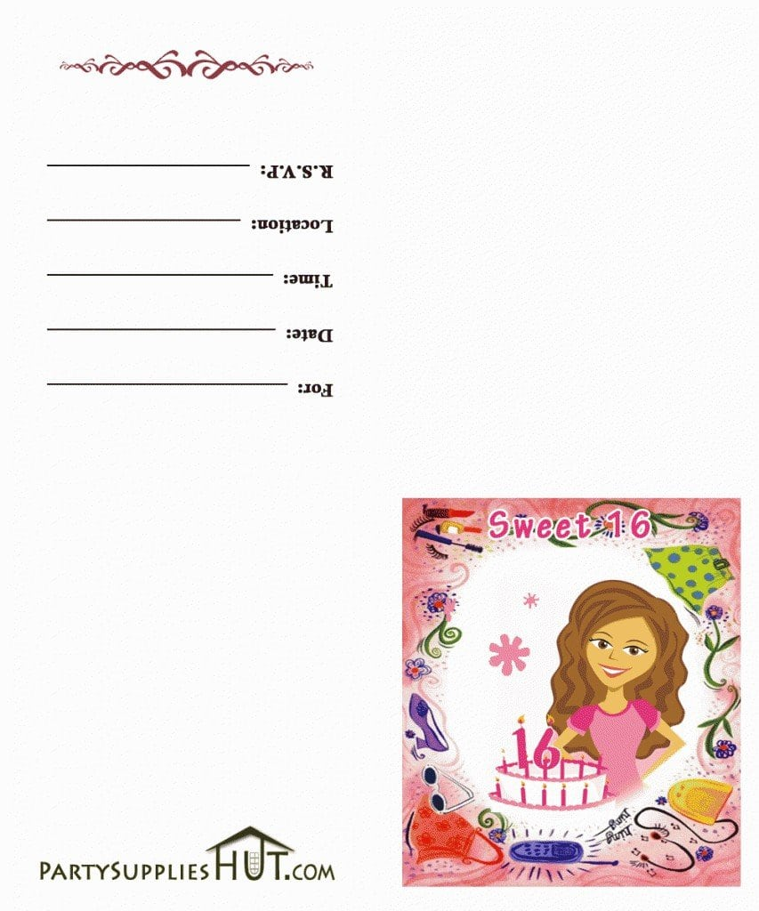 Birthday Sleepover Invitation Templates Printable Free 2