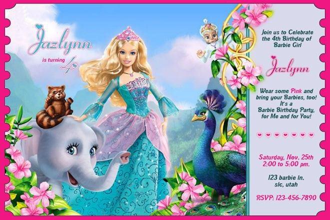 Birthday Ticket Invitation Template Free 3