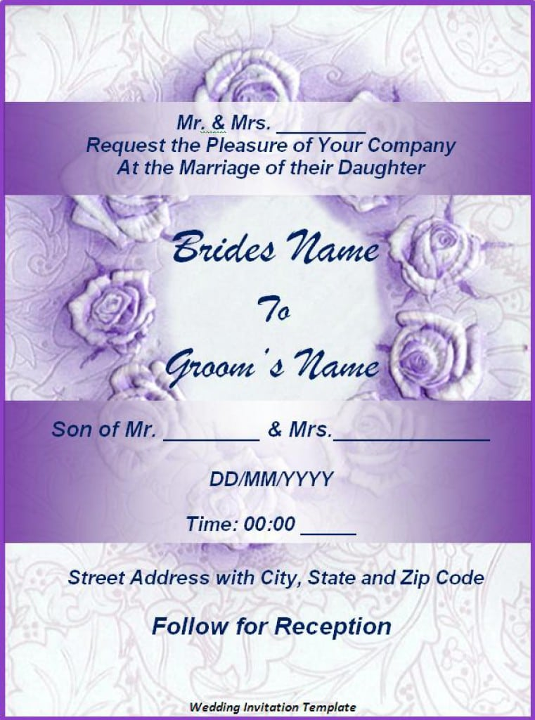 How To Make Wedding Invitation Cards On Microsoft Word New Wedding – How to Make Invitations on Word