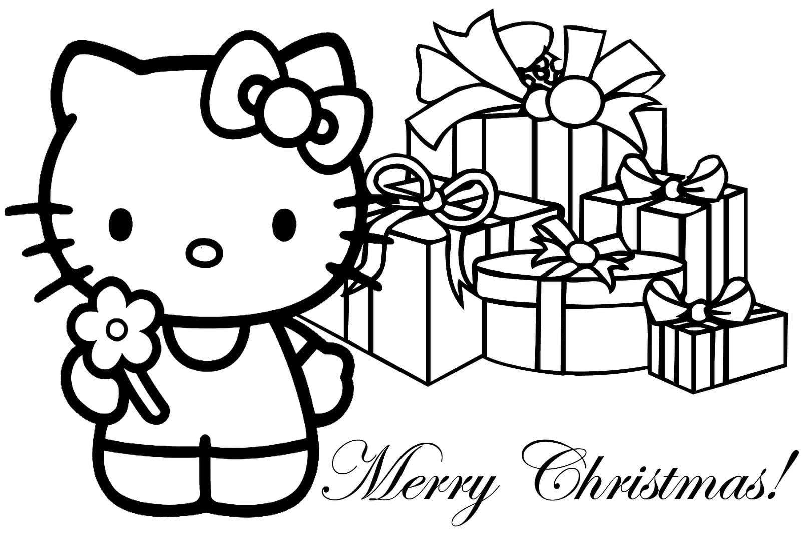Christening Invitation Blank Hello Kitty 2