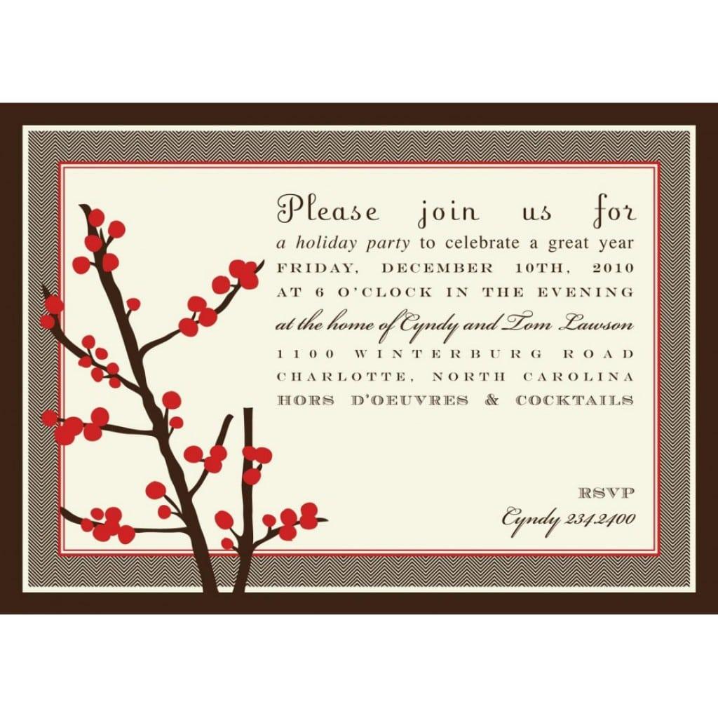 Christmas Invitation Template 5