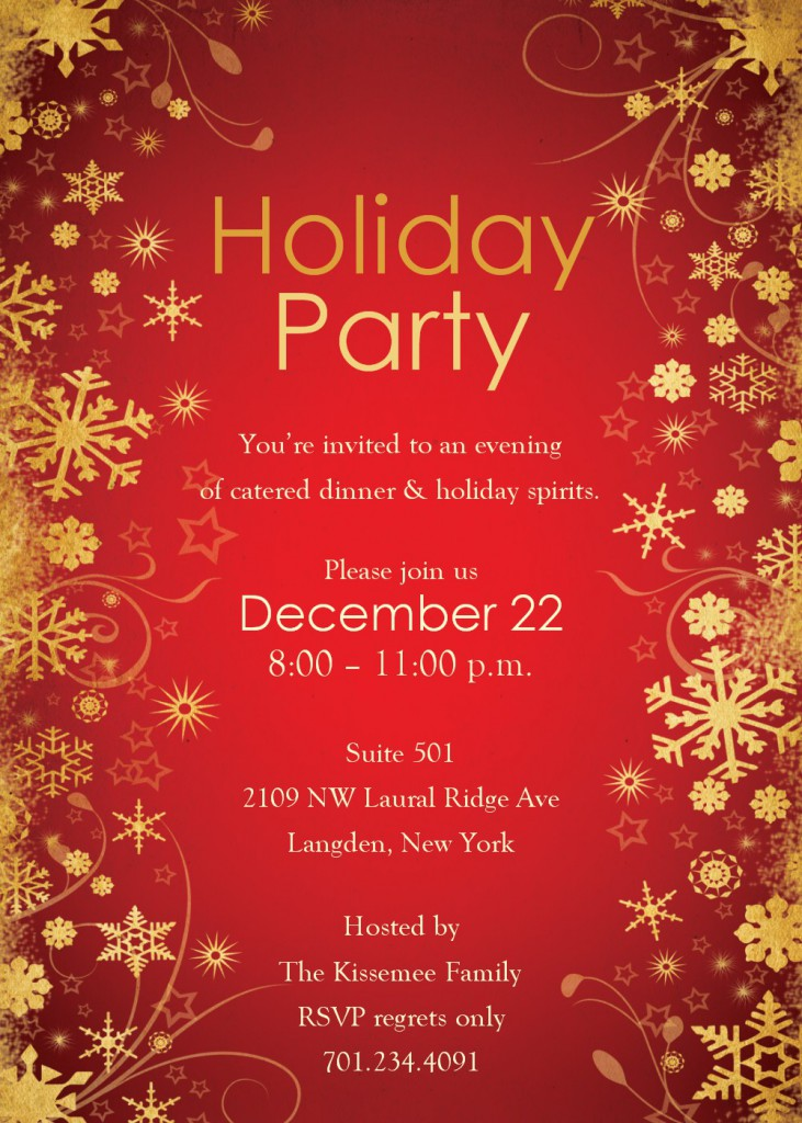 Christmas Party Invitations Templates Word 285 X 400 640 X 897 ...  Birthday Party Invitation Template Word