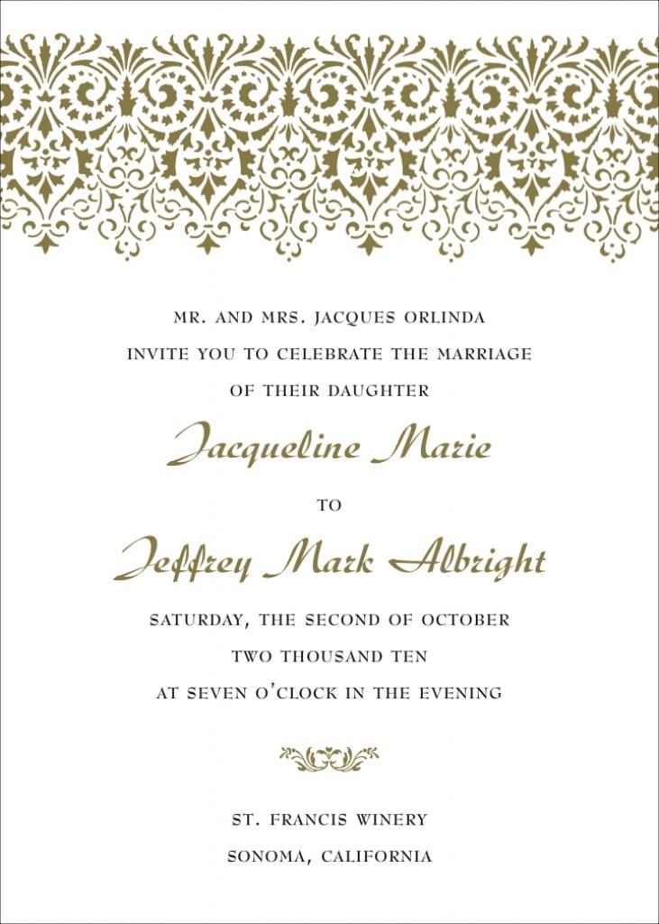 Design Templates For Invitations 4