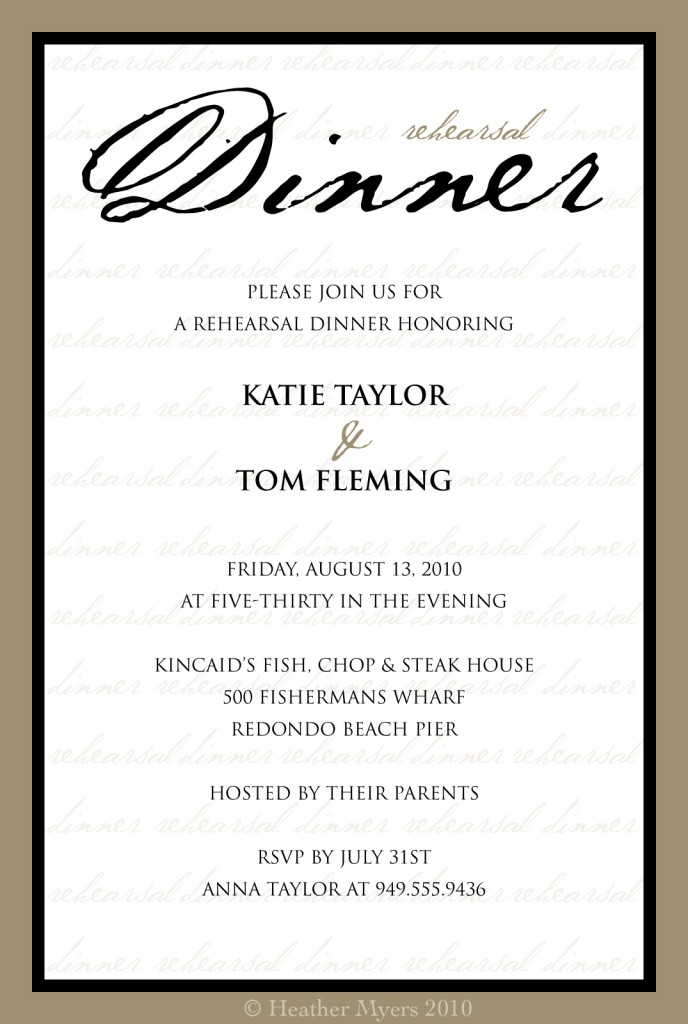 Dinner party invitations templates dinner party invitation template free printable 268 x 400 stopboris Gallery
