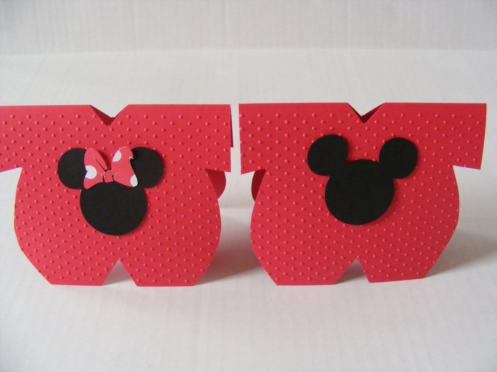 Disney Baby Mickey Mouse Invitations Christening 5