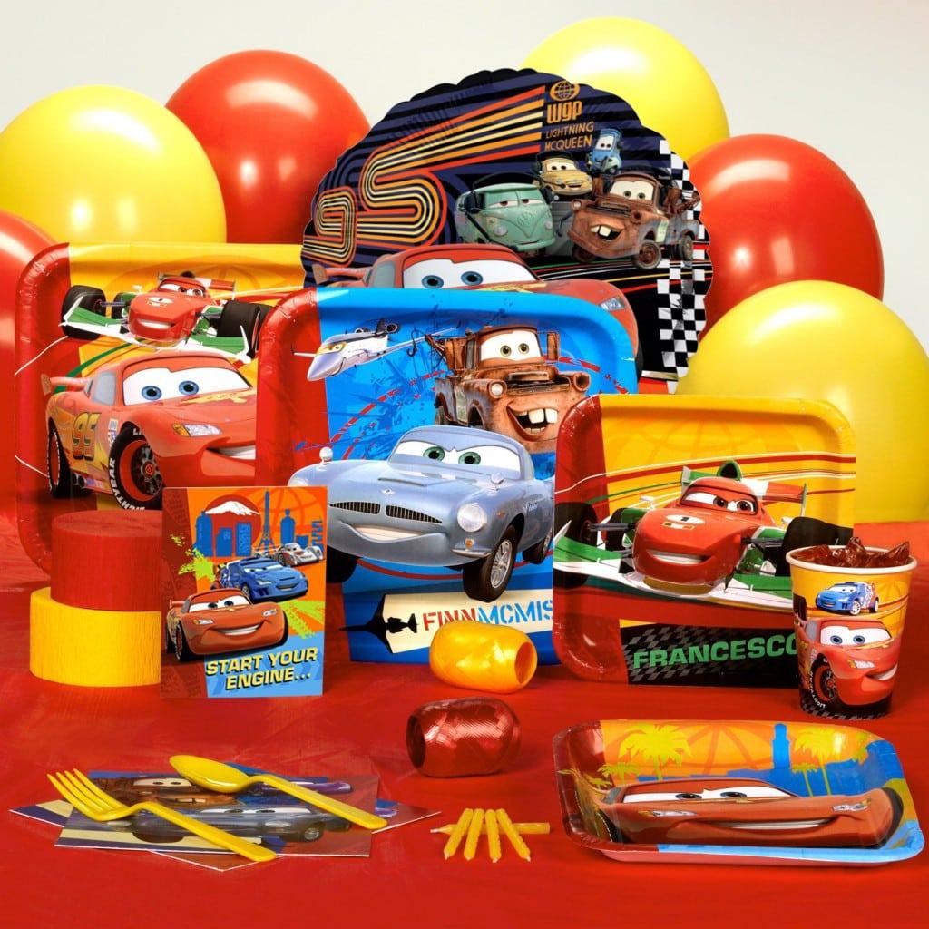 Disney Car Invitation Template 3