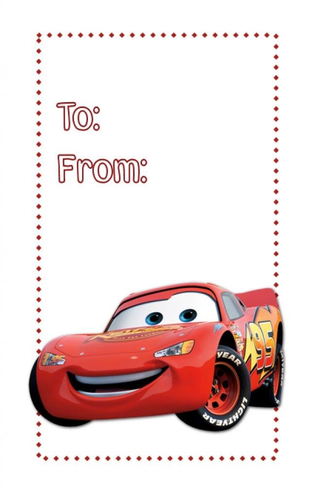 Disney Cars Free Birthday Invitations 2
