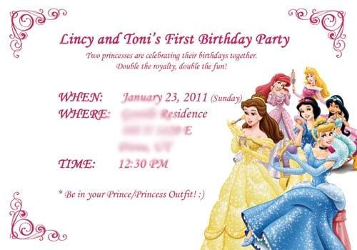 Disney Cars Free Birthday Invitations 3