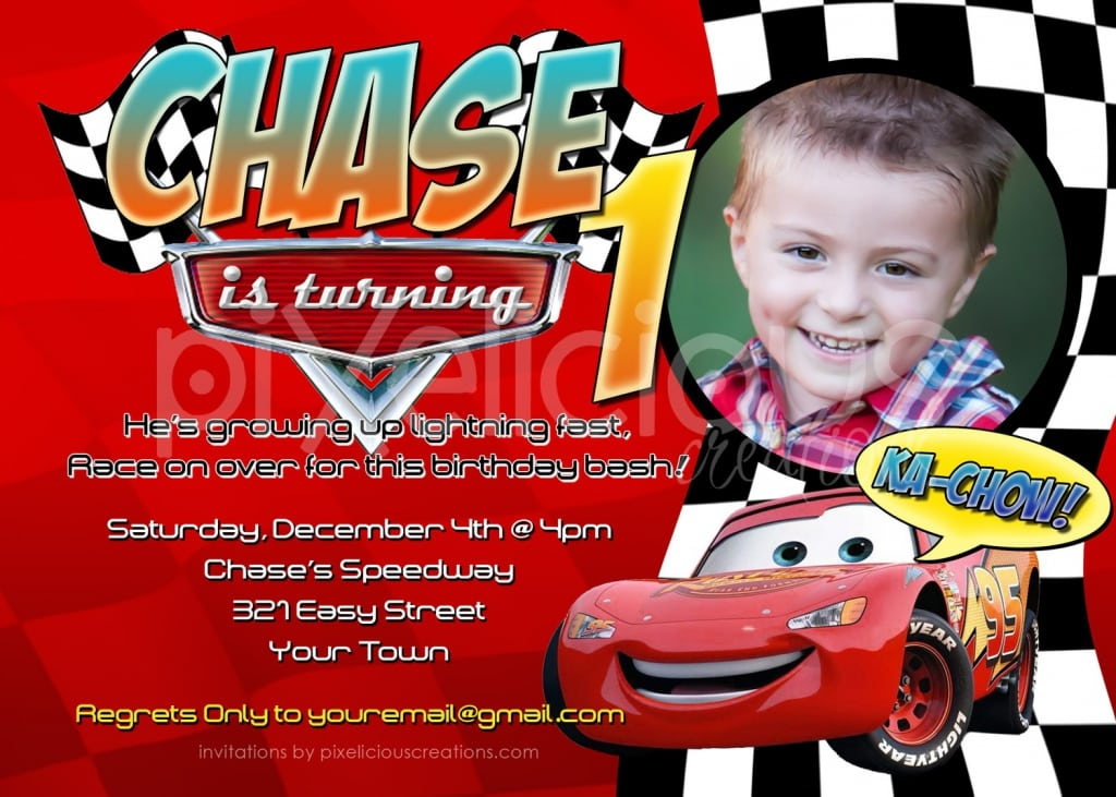 cars invitationsDisney Cars Invitations Birthday EAHWl7HU