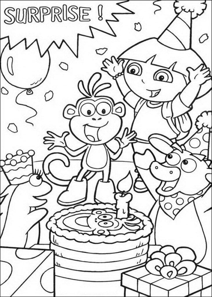 Dora The Explorer Invitation Free Templates 2