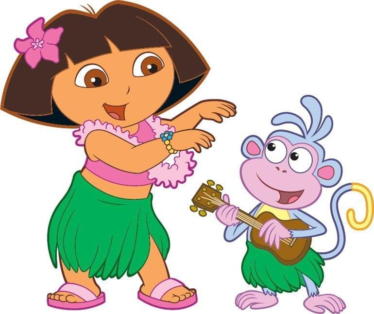 Dora The Explorer Invitation Free Templates