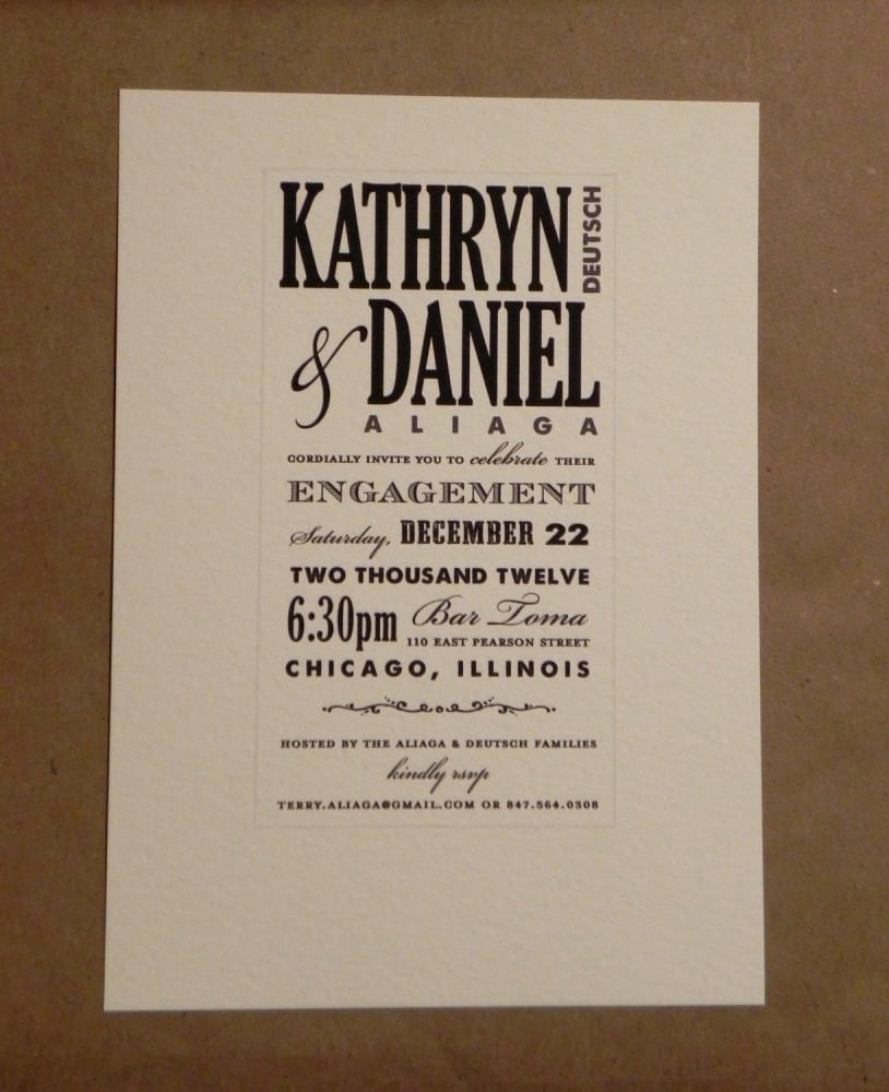 Engagement Invitation Templates Online