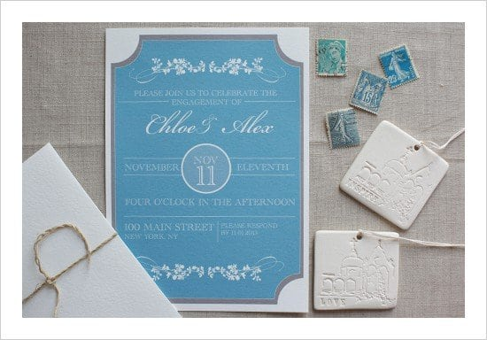 Engagement Party Invitations Free Download 5