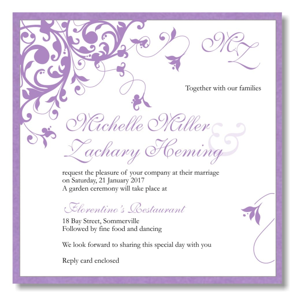 Engagement Party Invitations Free Download