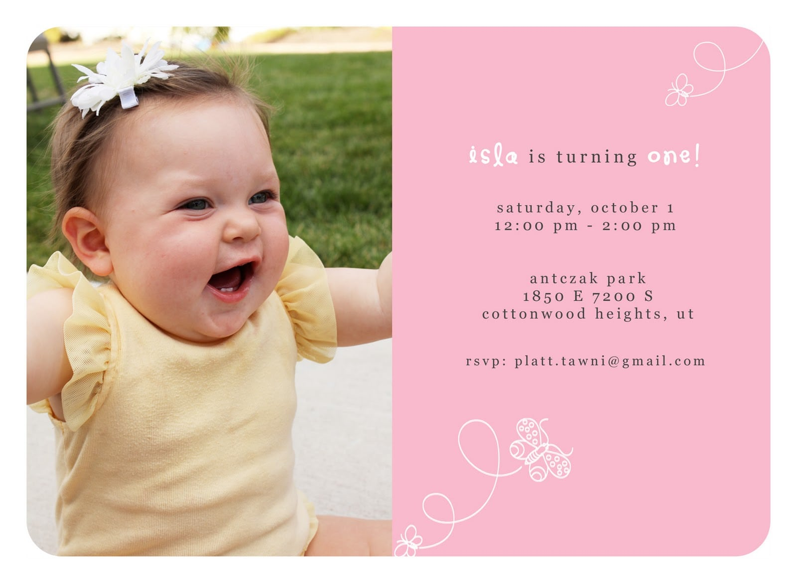 First Birthday Boy Invitation Template Free