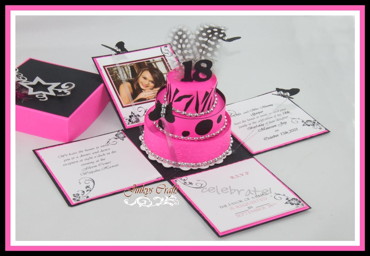 Free 18th Birthday Invitation Maker