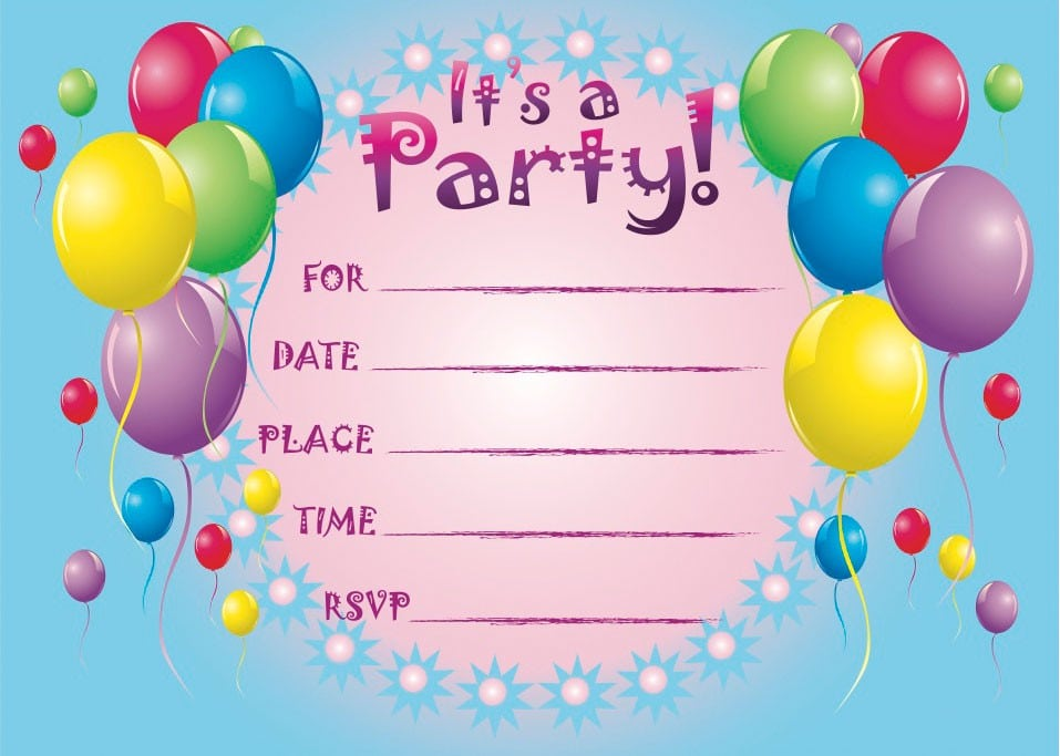 Free St Birthday Invitation Templates Printable - Free 1st birthday invitation templates printable