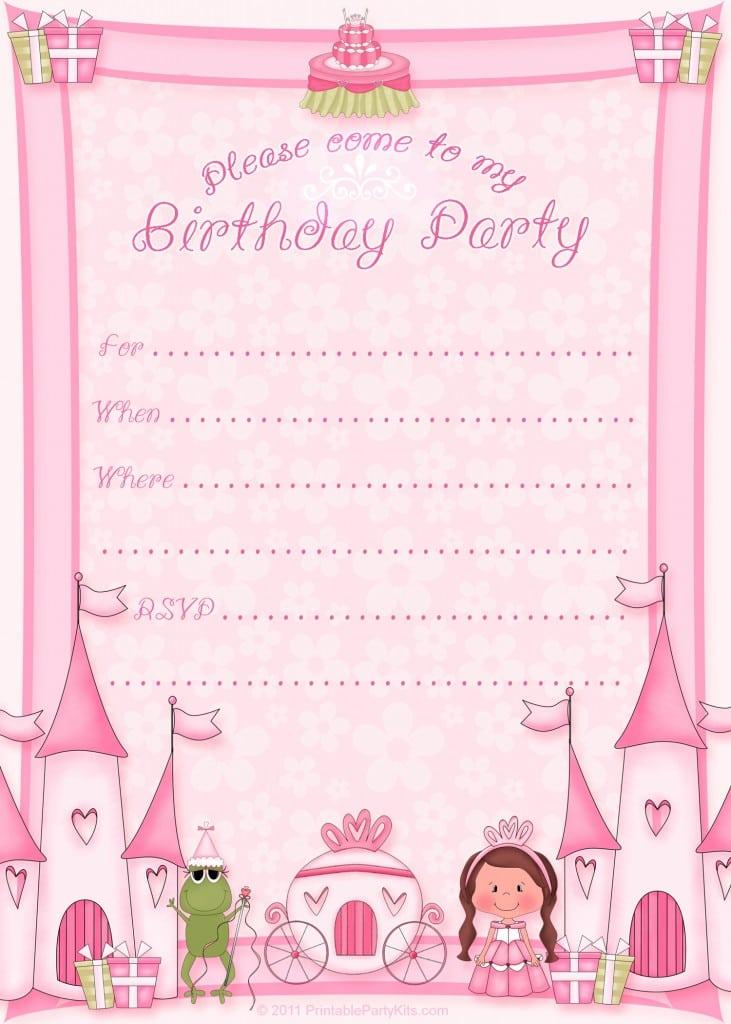 Free 30th Birthday Invitation Templates Printable 5