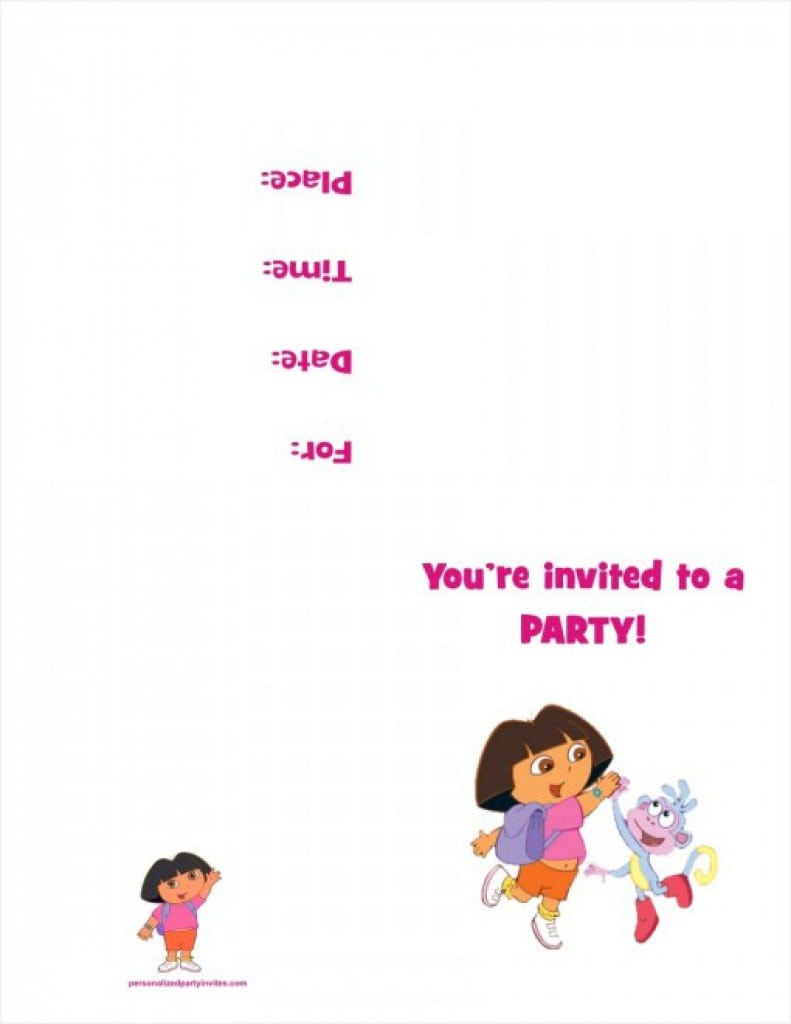 Free 40th Birthday Party Invite Templates 3