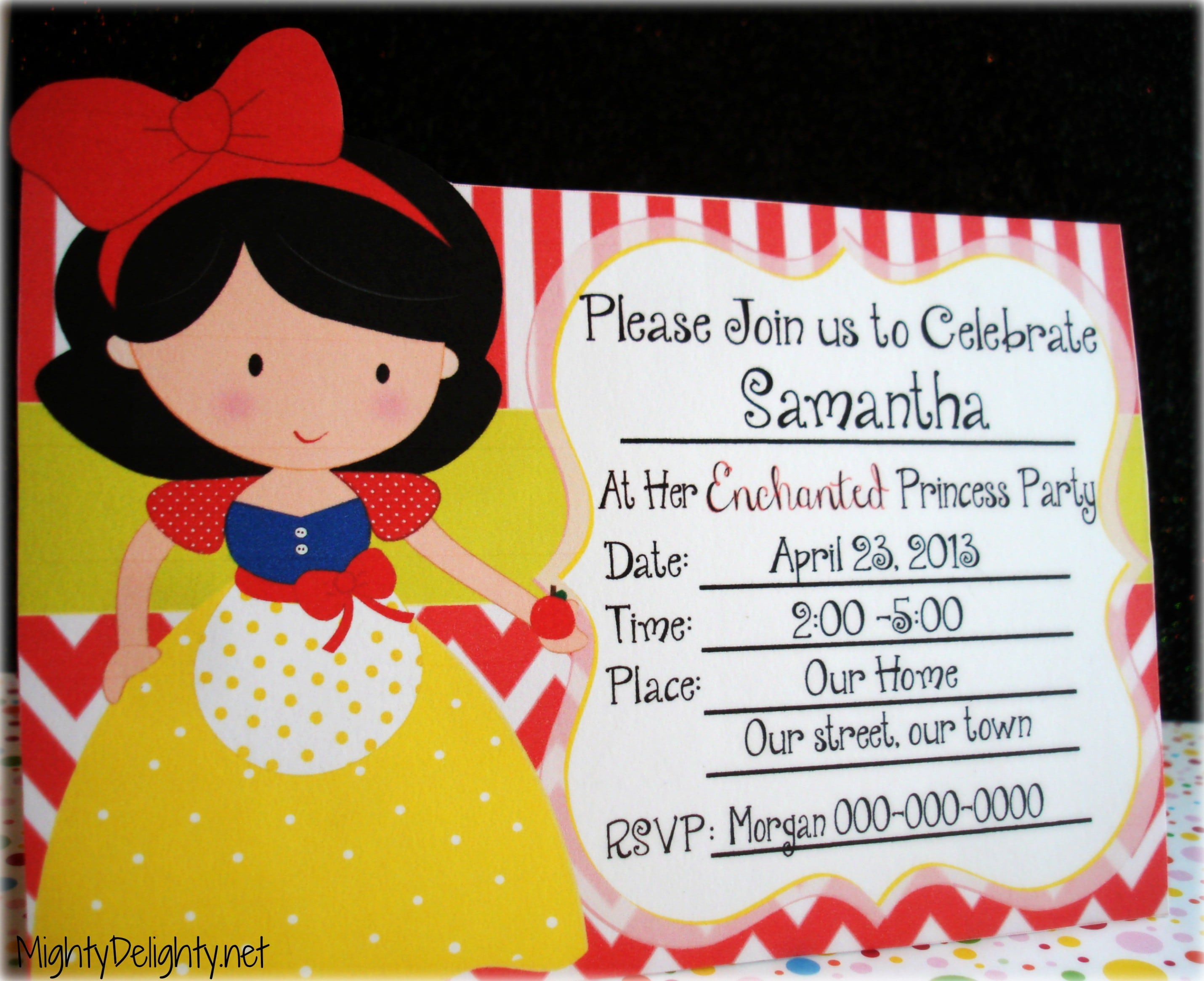 Free 7th Birthday Invitation Templates For Kids 4