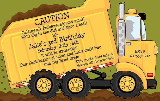 Free 7th Birthday Invitation Templates For Kids 5