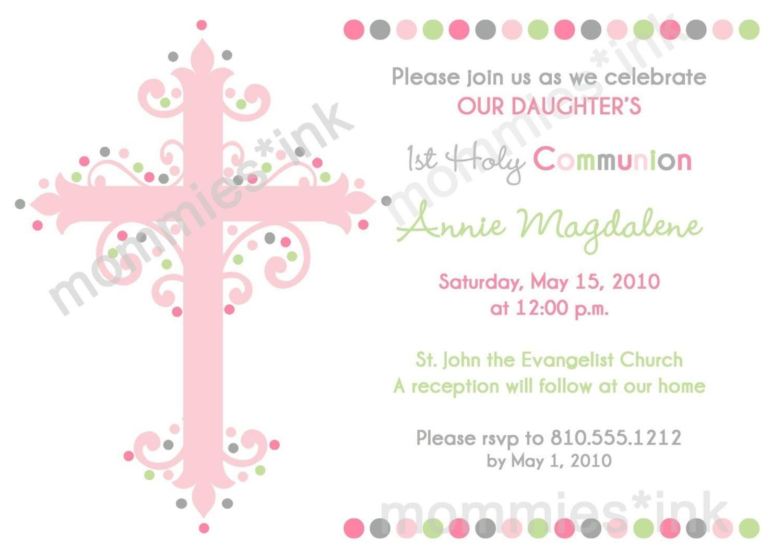 Free Baby Baptism Invitations 4