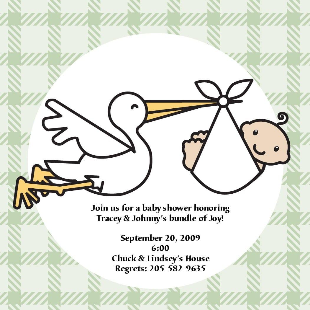 Free Baby Invitations