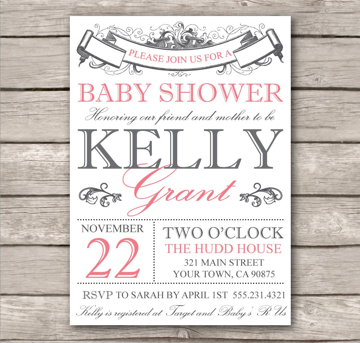 Free Baby Invitations Online