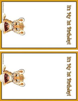Free Birthday Invitation Templates Leopard Print