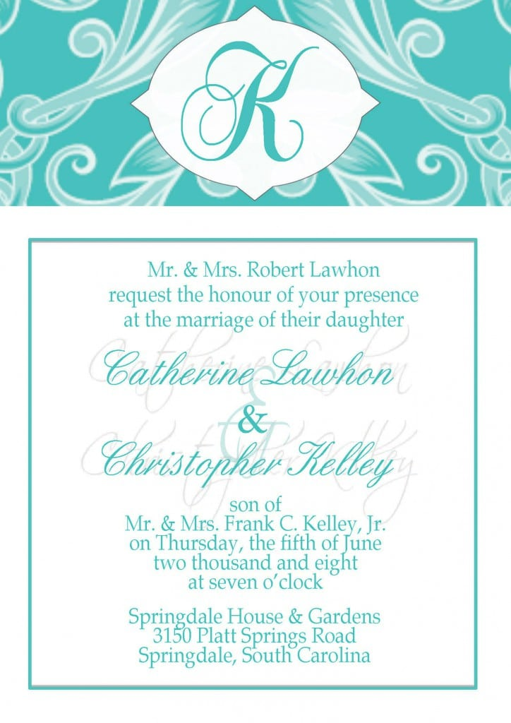 Free Christening Invitation Template 3