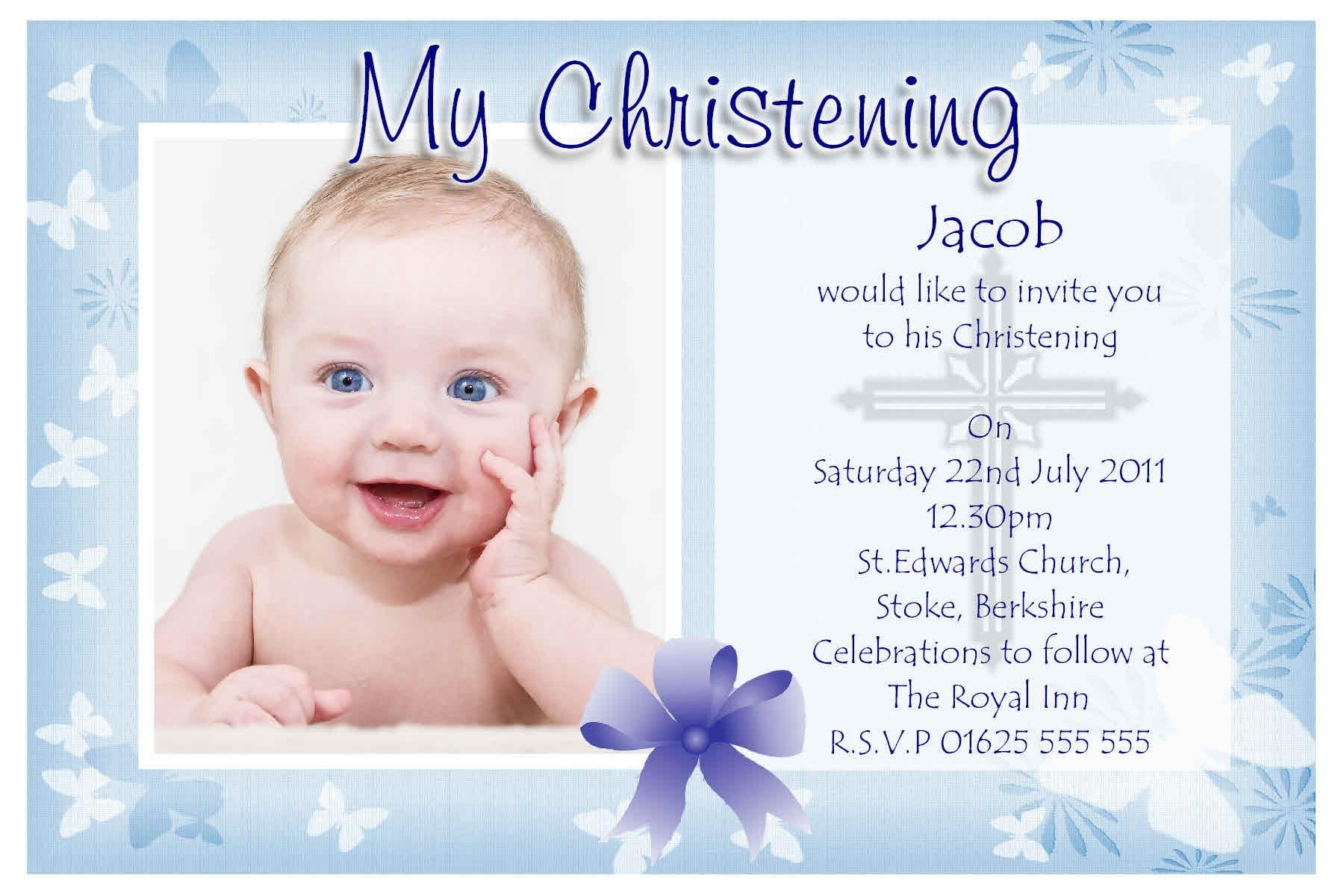 Baptism Invitations For Boy is one of our best ideas you might choose for invitation design