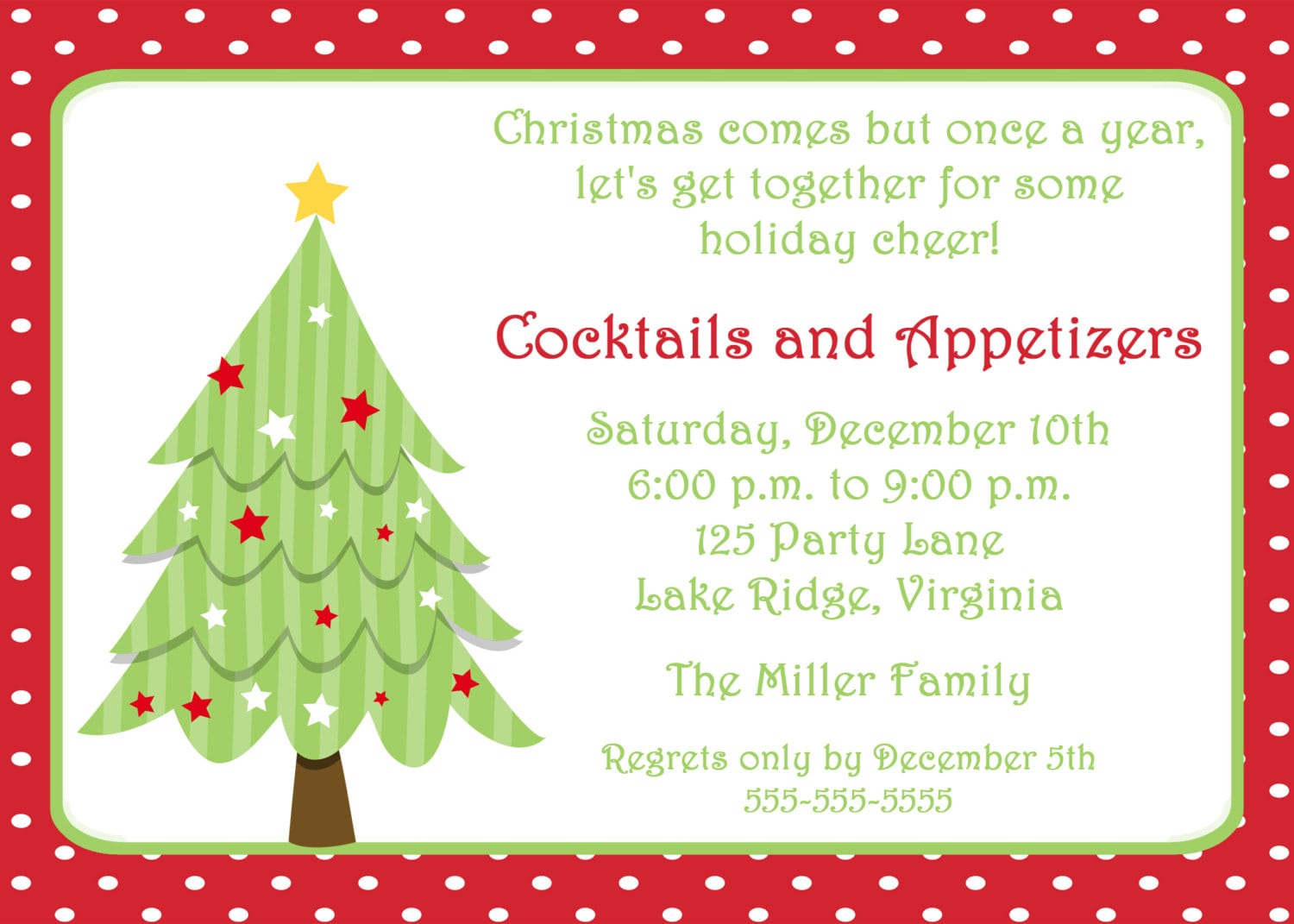 Free Christmas Invitation Templates To Print 2bQp71AE