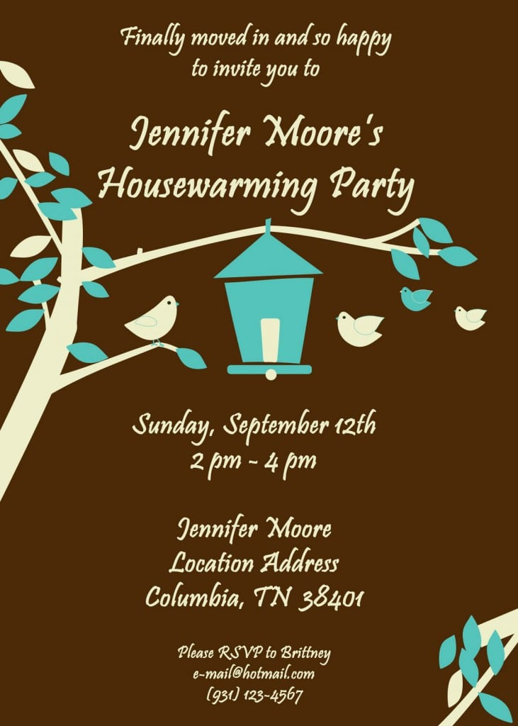 Free Download Of House Warming Invitations 3