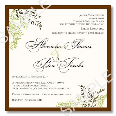 Free Download Templates For Vintage Wedding Invitations CNJzrUaO