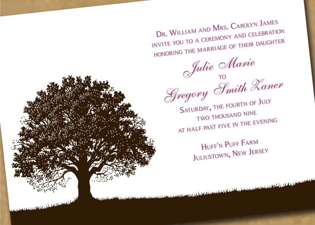 Downloadable Wedding Invitations